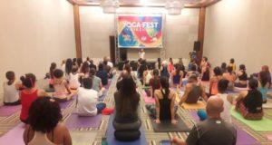 Margarita del Yoga Fest