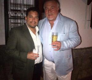 Wilmer Ruperti y Freddy Bernal